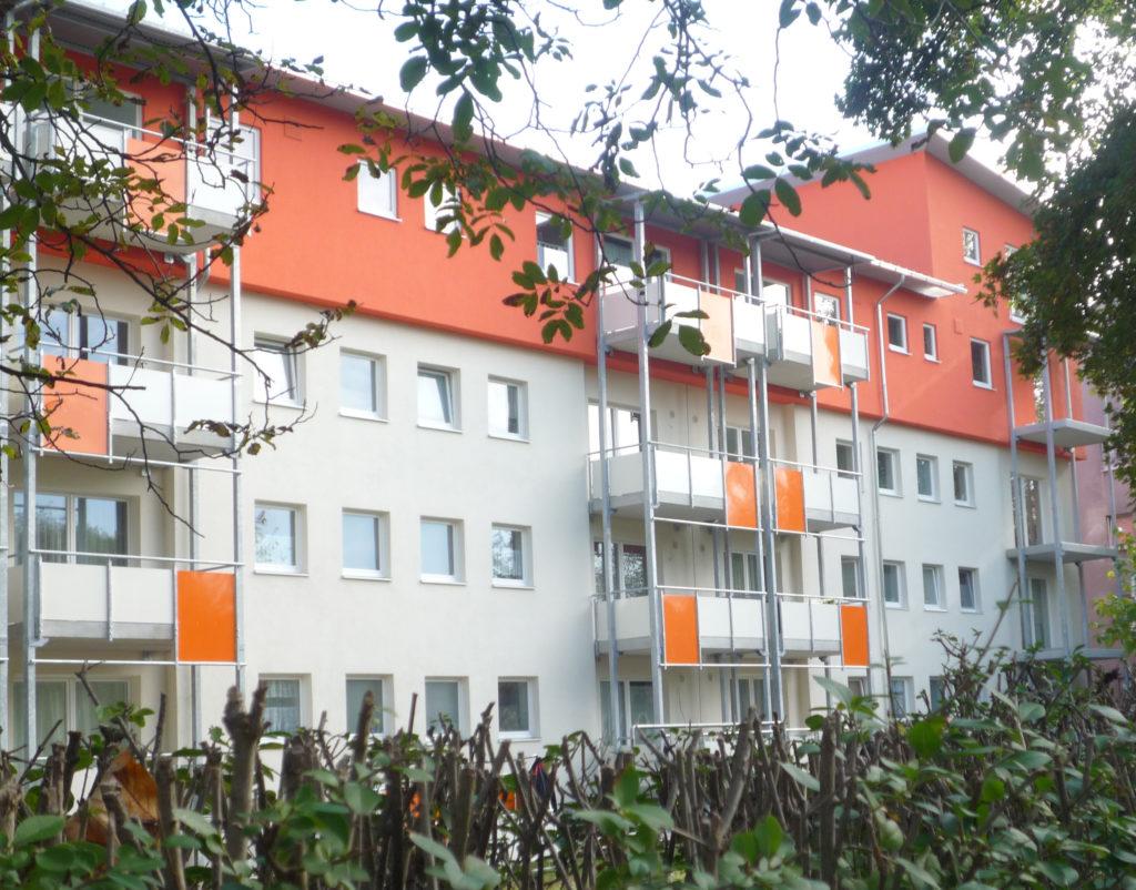 Mehrgeschossiger Wohnungsbau