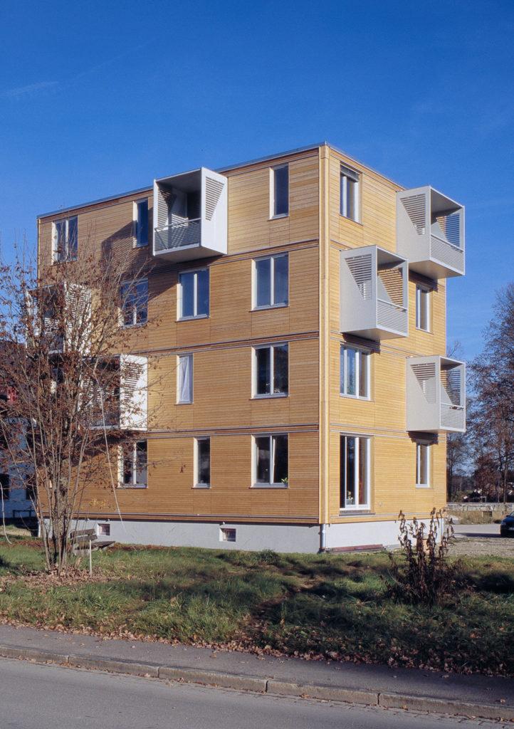 Mehrgeschossig Bauen mit Holz ist ökologisch und nachhaltig