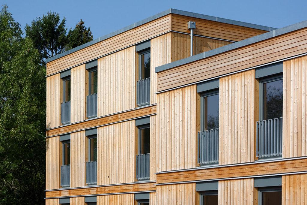 Holzsystembauweise
