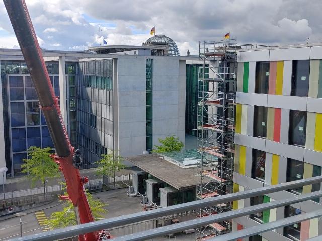 Bürogebäude Bundestag